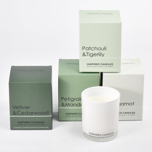 Inspired Soy Candles Botanical Range